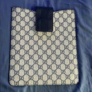 Authentic GUCCI case for Ipad/tablet - Like NEW